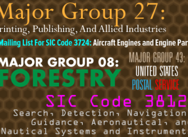 How SIC Codes Can Grow Your Mailing List