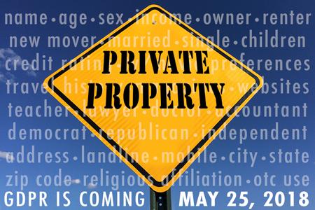 GDPR Is Coming - May 25, 2018