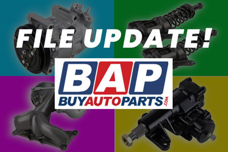 New: BuyAutoParts.com Buyers File Update