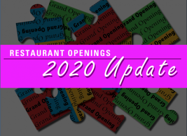 New Restaurants Update: Grand Openings For Marketers in 2020